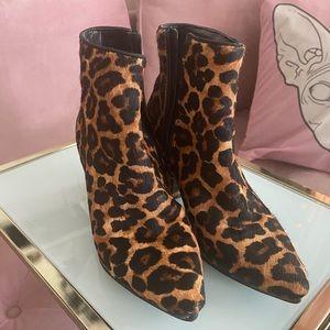 ALDO leopard Booties BNWOT